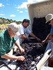 Working at Black Mesa Winery :