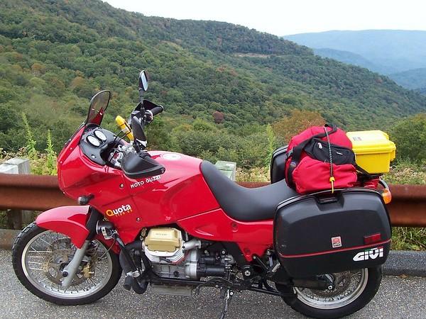 Blue Ridge Parkway trip - 2004
